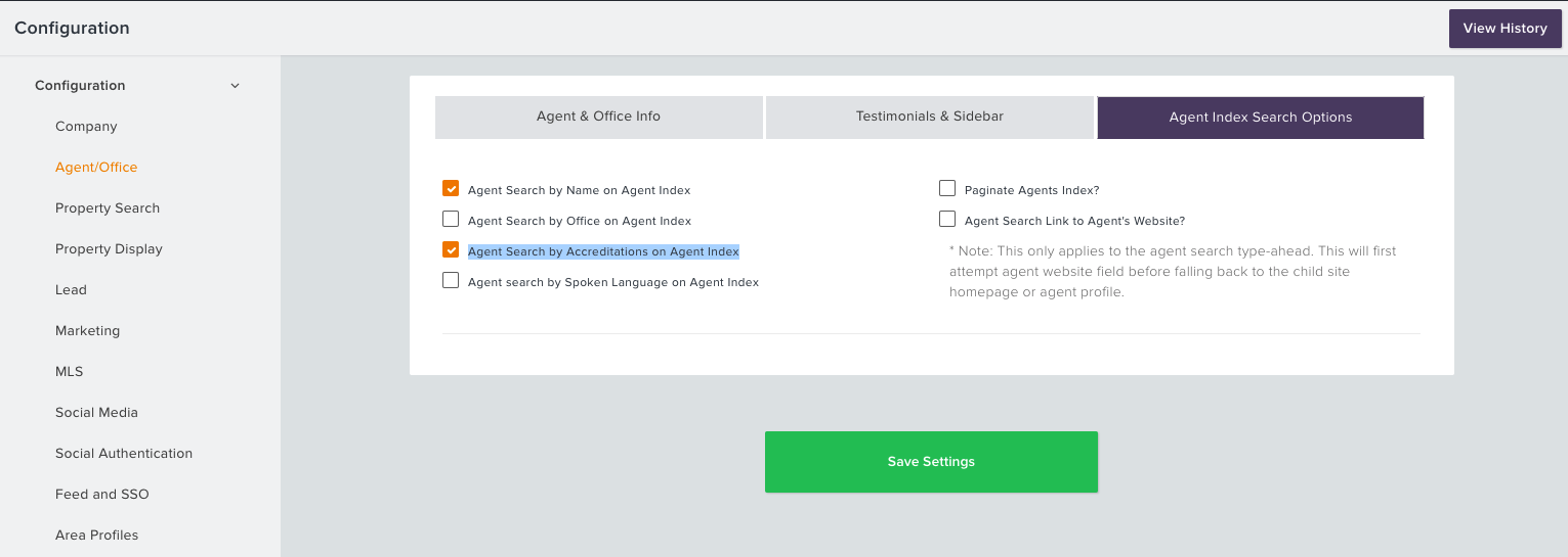 Agent Index Search Options and Accreditations – BOSTONLOGIC